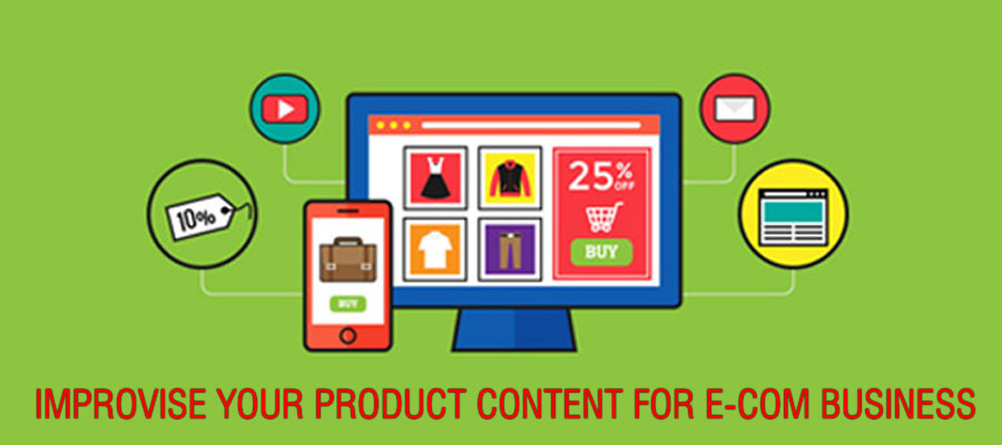 eCommerce Website Content Writing India - Content Writing